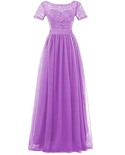 of Leader Damen Kleid the Beauty Lilac q8Sw8
