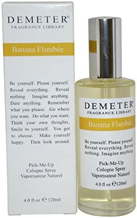 Banana Flambee By Demeter For Women. Pick-me Up Cologne Spray 4.0 Oz