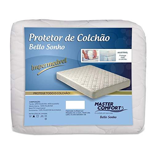Protetor De Colchao Casal Impermeavel Matelado c/ Elastico
