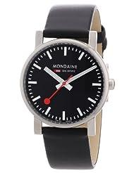 Mondaine Men's A658.30300.14SBB Quartz Evo Leather Band Watch