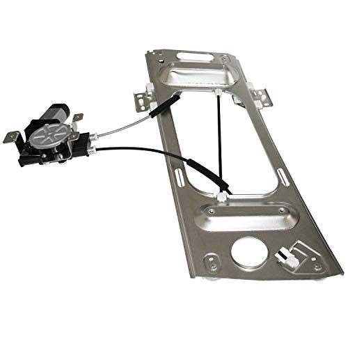 Power Window Lift Regulator & Motor Front Left Driver Side Compatible for 97-02 Pontiac Grand & 01-07 Chevy Monte Carlo Replace# 741-810