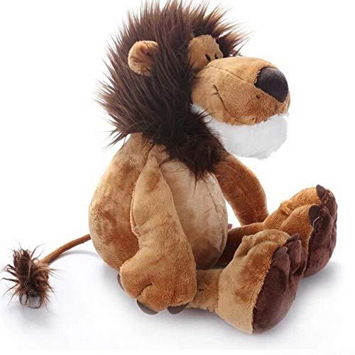 La Dran 10''25CM Popular Lion Stuffed Plush Doll Jungle Series Stuffed Animal Toys for Kids Children Gift