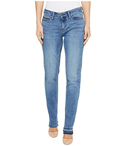 Faded Jeans Leg (Calvin Klein Women's Skinny Jean, Faded Blue Berry, 25x32)