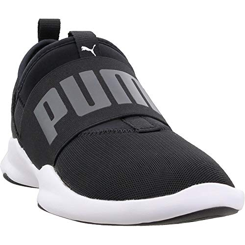 PUMA Women's Dare Wn, Puma Black-Puma White, 9 M US