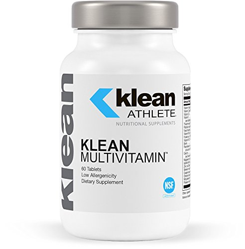 Klean Athlete – Klean Multivitamin – Essential Nutrients and Antioxidants for Optimal Health and Performance – NSF Certified for Sport – 60 Tablets