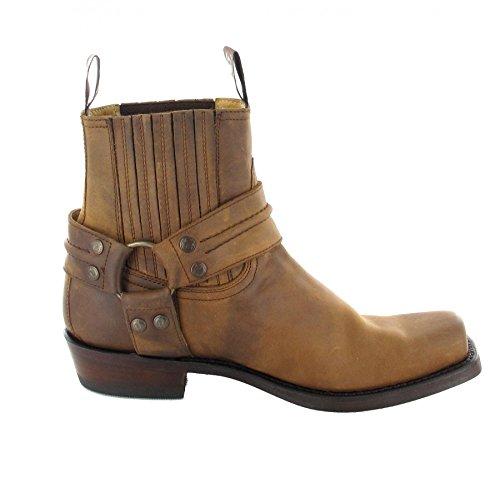 adulto estilo Sendra marrón Boots2746 botas motero Marrón Unisex xaXxqfw
