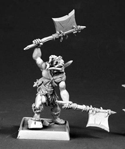 RPR60157 Cleric of Rovagug Pathfinder Series Miniatures by Reaper