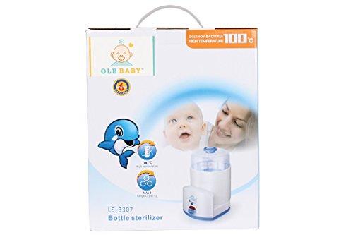 Ole Baby 3 Bottle Electric Steam Sterilizer Cum Food Warmer Cum Heating(250 Ml Each)
