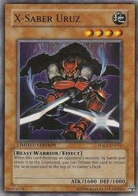 Yu-Gi-Oh! - X-Saber Uruz (HA01-EN012) - Hidden Arsenal - 1st Edition - Super Rare ()