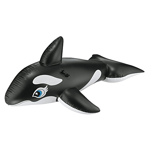Intex 58561EP Inflatable Whale Ride On Swimming Pool Float Tube Whale Inflatable Pool