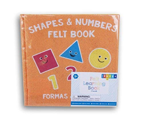 Horizon Shapes and Numbers Felt Busy Book for Grade K - 8'' x 8''