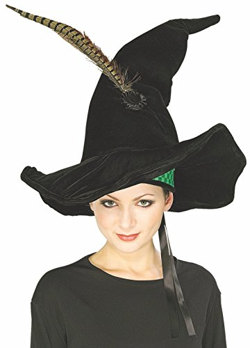 [Harry Potter McGonagall's Hat with Feather] (Professor Mcgonagall Costumes Adults)