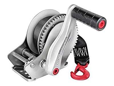 Reese Powersports Marine Trailer Winch (7064600) - Single