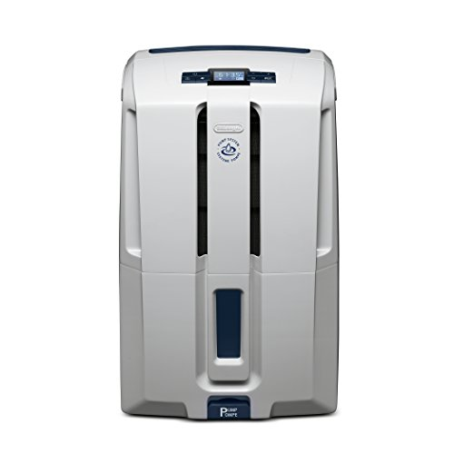 DeLonghi Energy Star 70 Pint Dehumidifier, White ()