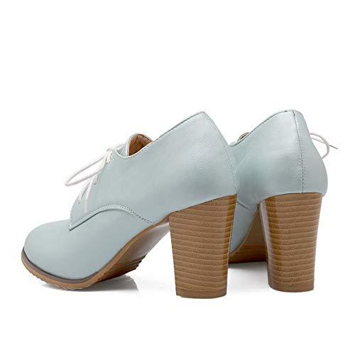 AdeeSu Sandales Compensées SDC05662 Femme Bleu 11rvq