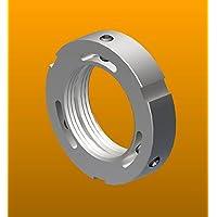 PRN-07, Standard N07 Replaces SKF N 07 UNS 1.376-18 Right-Hand Thread Whittet-Higgins PN-07 Precision Shaft /& Bearing Locknut Not Self-Locking