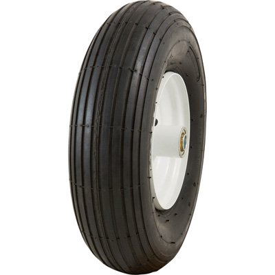 Marathon Tires Pneumatic Wheelbarrow Tire - 5/8in. Bore, 4.00-6in. by Marathon Tires