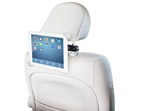 OCTO MOUNT Universal 360° Degree Rotating Tablet Car Headrest Grip Mount for iPad & All Tablets up to 7 to 11