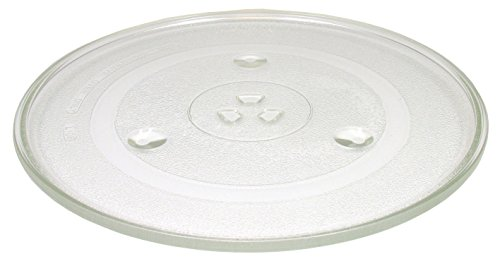 NEW! Microwave Turntable Glass Plate 12.5'' or 315mm Designed to Fit Several Models by 4 Your Home