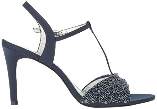 Dress Alia Navy Adrianna Women Papell Sandal xtwEwvYq