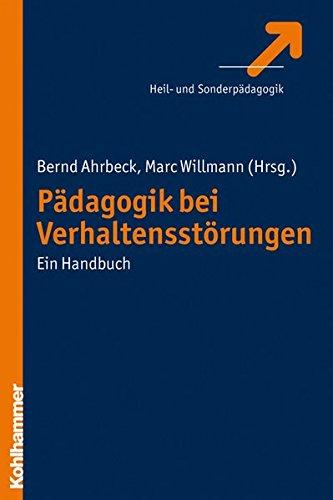 Pädagogik bei Verhaltensstörungen. Ein Handbuch.