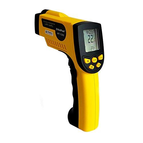HP-1300 Infrarot-Thermometer 16:1, -50-1300°C, einstellbare Emissivität Pyrometer Laser