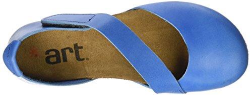 Art Dames 0442 Mojave Creta Gesloten Sandals Blauw (zee)