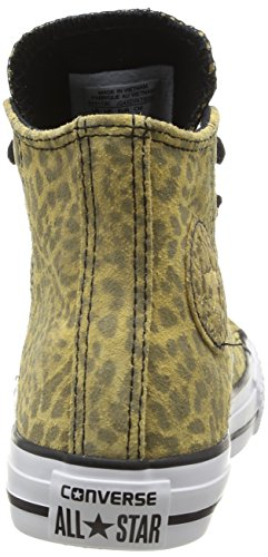 Converse Ctas Animal Hi, Unisex-Kinder Hohe Sneakers Mehrfarbig (léopard)