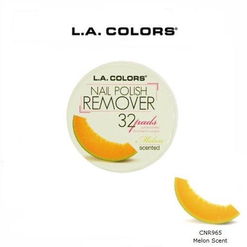 3 Pack L.A. Colors Cosmetics Nail Polish Remover Pads 965 Melon (L A Colors Nail Polish Set compare prices)