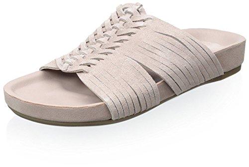 Belle by Sigerson Morrison Womens Alva Flat Sandal Light Pink