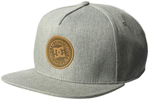 DC Men's REYNOTTS Trucker HAT, Heather Charcoal, 1SZ Dc Shoes Athletic Cap