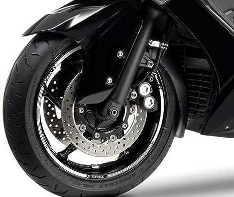 STRISCE ADESIVE per CERCHI compatibili per YAMAHA T MAX scooter TMAX 2008-2019