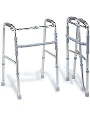 GIMA 27722 Lichtgewicht opvouwbare rollator, mobiliteitshulp voor senioren en gehandicapten