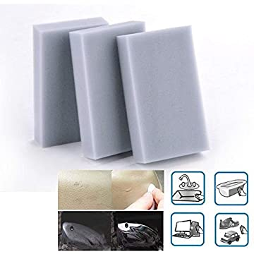 Ladiy 100pcs Magic Sponge Eraser Melamine Cleaner Gray Multi-functional Cleaning Wholesale