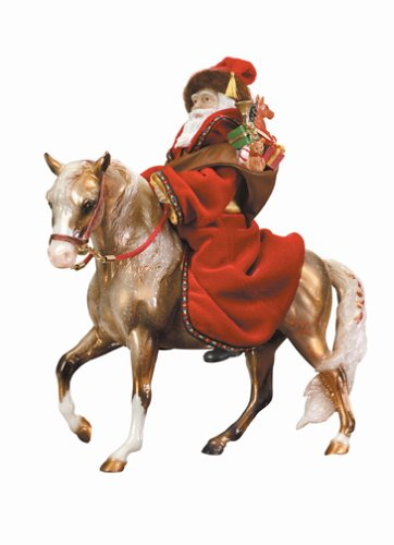 Breyer Father Christmas - Eighth of a series of Beyer Holiday Horses ()