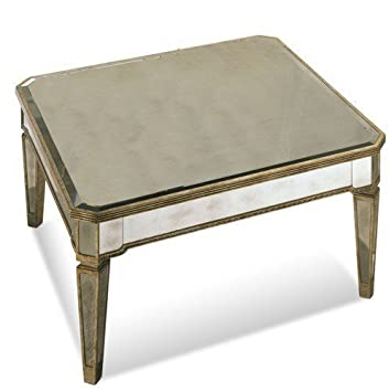 borghese furniture mirrored. bassett mirror borghese mirrored uare cocktail silver leaf furniture i
