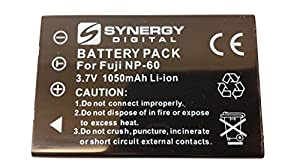 Kodak Easyshare One Digital Camera Battery Lithium (1050 mAh) - Replacement for Fuji NP-60, Pentax D-L12, Kodak KLIC-5000,