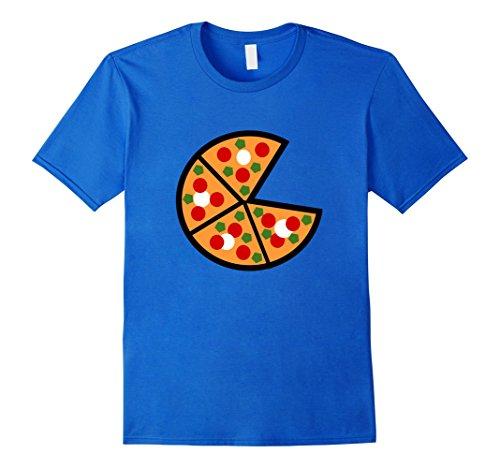 Mens Emoji Tshirt National Pizza Day November 12 Xl Royal Blue