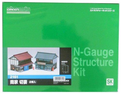 Merchant gable N gauge 2161 (Unpainted Kit) by Green - 2161 As