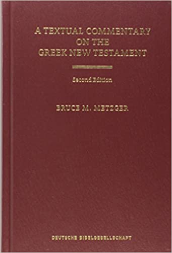 A Textual Commentary on the Greek New Testament (Ancient Greek