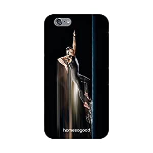 HomeSoGood Swimming Champion Black 3D Mobile Case For iPhone 6 (Back Cover)