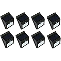 Solar motion light,one set of 8 pcs,night sensor light