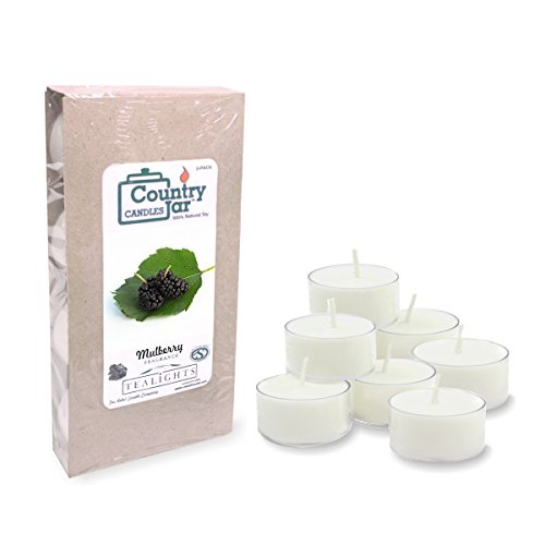 Country Jar Mulberry Tealights 10 20 30 product image