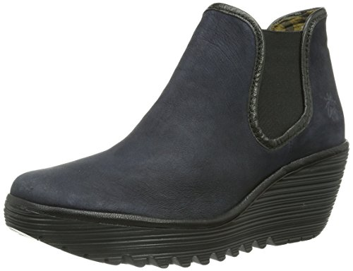London Fly Azul Black Mujer Navy Yat 003 Botines para 7A1F7Bq