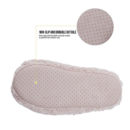 MaaMgic Hausschuhe Pantoffeln Warme Hausschuhe Winter Indoor Hausschuhe Winterschuhe Kuschelig Hausschuhe