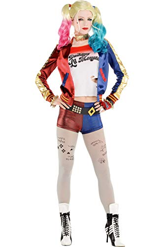 90's Tv Show Halloween Costumes (SUIT YOURSELF Property of Joker Harley Quinn Halloween Costume, Suicide Squad, Small, Includes)