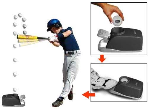 Non-Electric Baseball Soft Toss Pop Up Pitching Machine