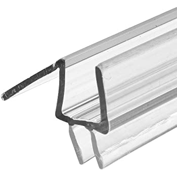 Attractive Prime Line Products M 6258 Frameless Shower Door Bottom Seal, 3/8 In. X 36  In., Vinyl, Clear