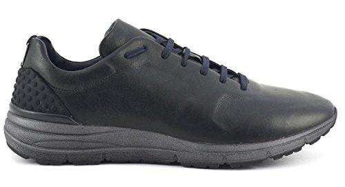 Sneaker nera in bufalo con suola antracite Cafè Noir art. PA201 42