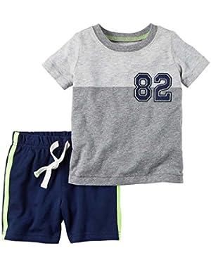 Baby Boys' 2 Piece Shorts Set